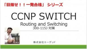目指せ!!一発合格 CCNP SWITCH