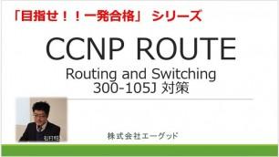 目指せ!!一発合格 CCNP ROUTE