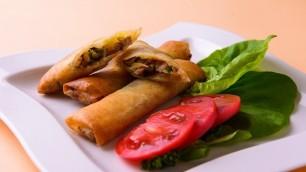 「野菜ぎっしりなのにパリパリ春巻き」油の加減も難しい巻き方も難なく解決!