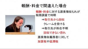 吉田の源泉所得税基礎講座(平成30年版)「1 源泉所得税制度入門」「1 源泉徴収制度の概要と間違えた時の影響」