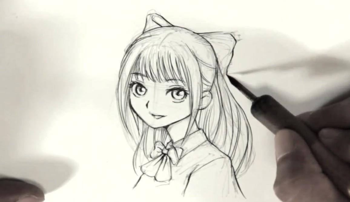 プロのマンガ講師が教える「誰でも可愛い女の子を描けるイラストレッスン」